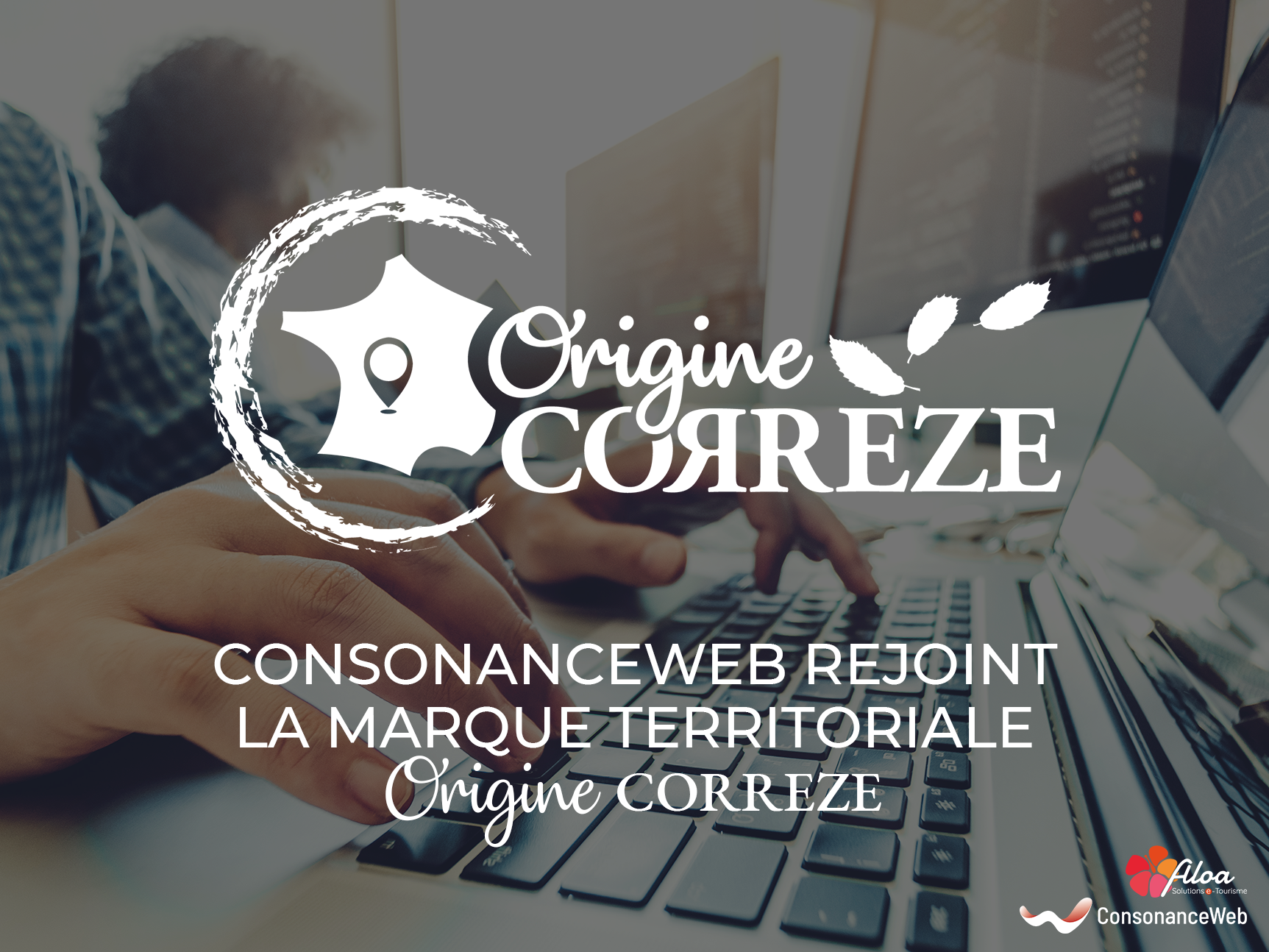 ConsonanceWeb et Aloa deviennent ambassadeurs de la marque Origine Corrèze