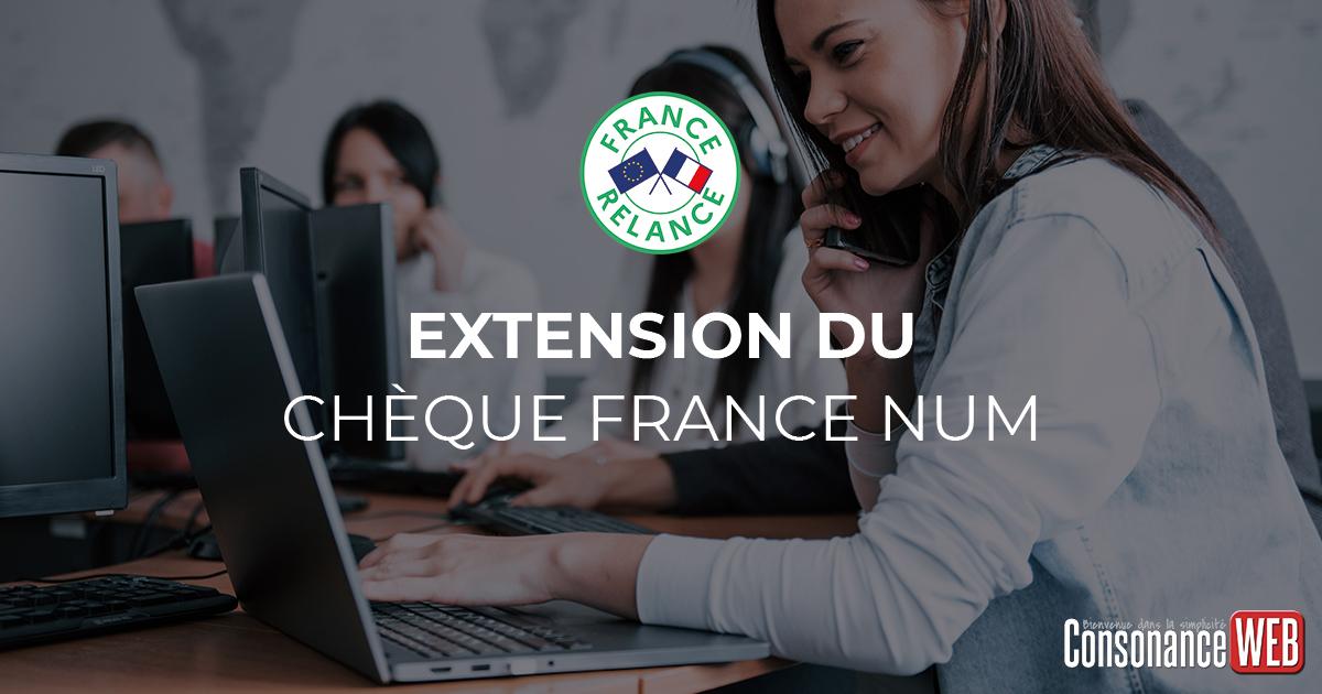 Extension du chèque france num